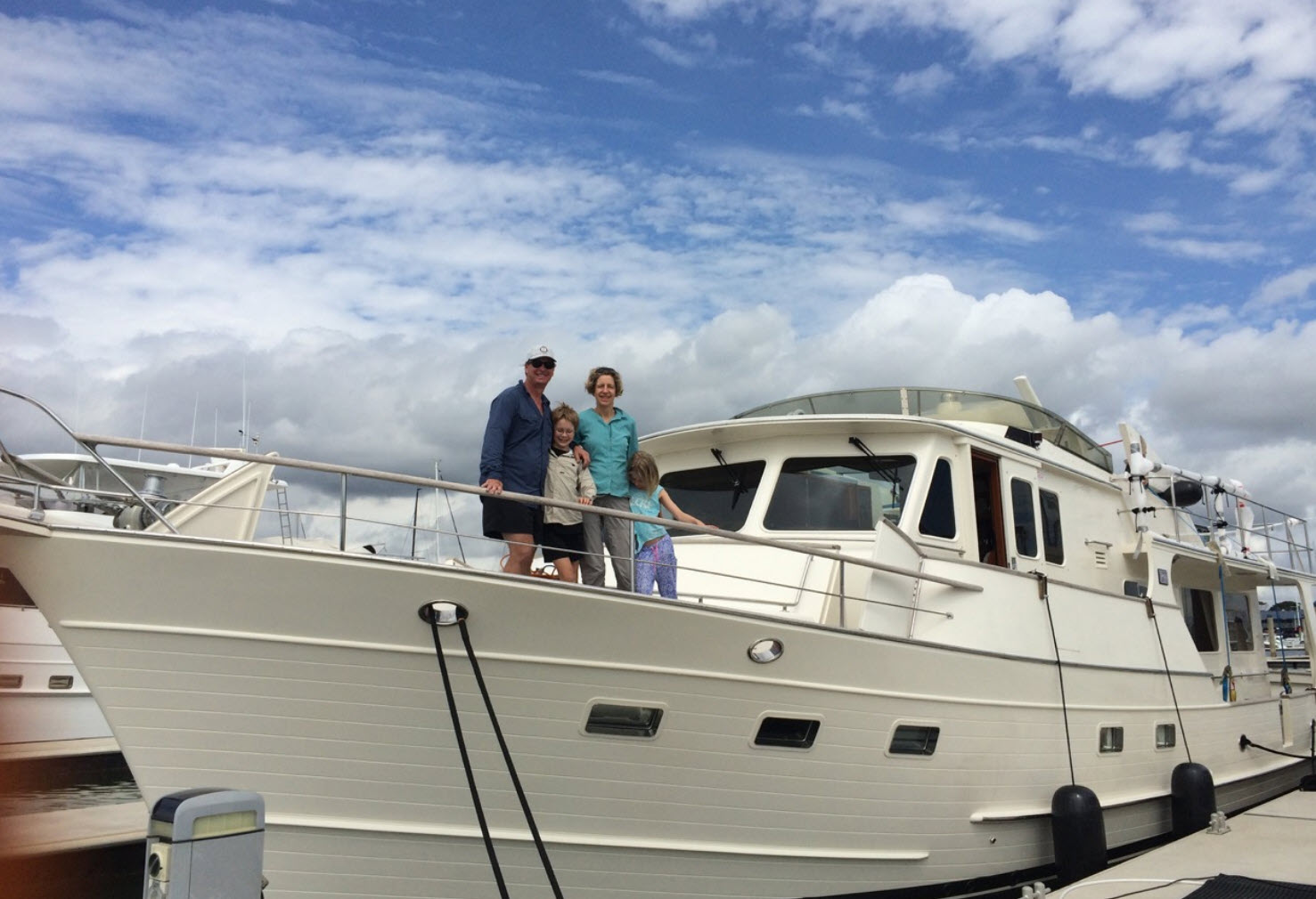 Fleming 65 Owners Of Hull 007 Talk About Their Boating Adventure